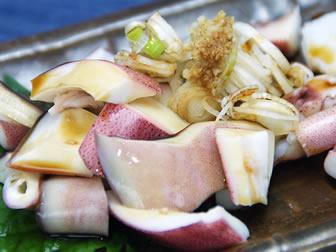 飛騨高山の煮イカ