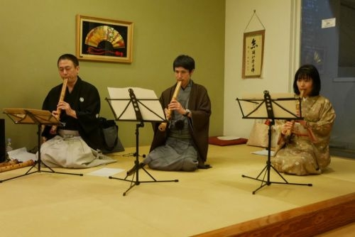 Bamboo flute live