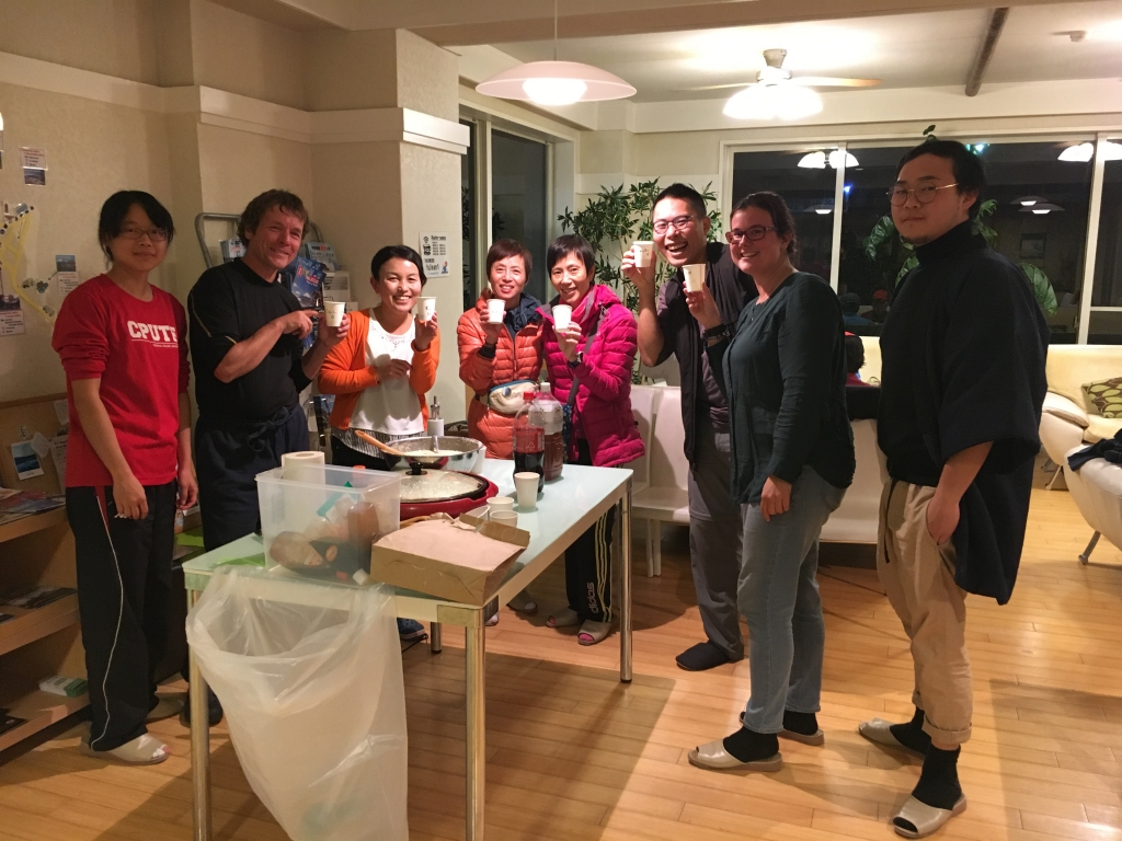 Gyoza and Okonomiyaki Party