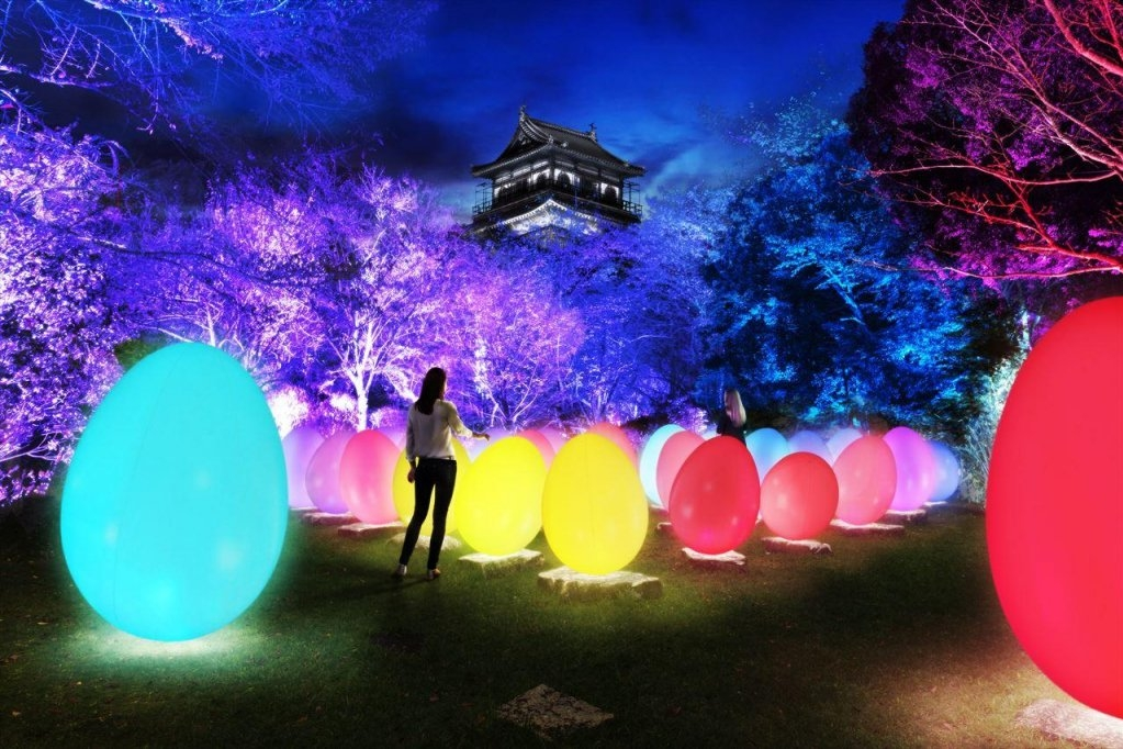 teamLab★ : Digitized Hiroshima Castle